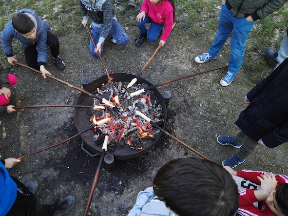 Familientag mit Lagerfeuer & Stockbrot