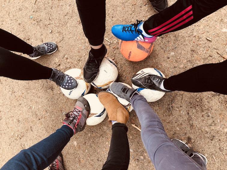 Fußballcamp für Mädchen und Jungen