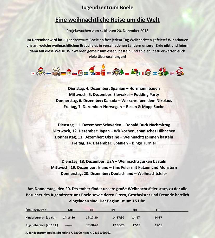 Eine weihnachtliche Reise um die Welt - Schweden