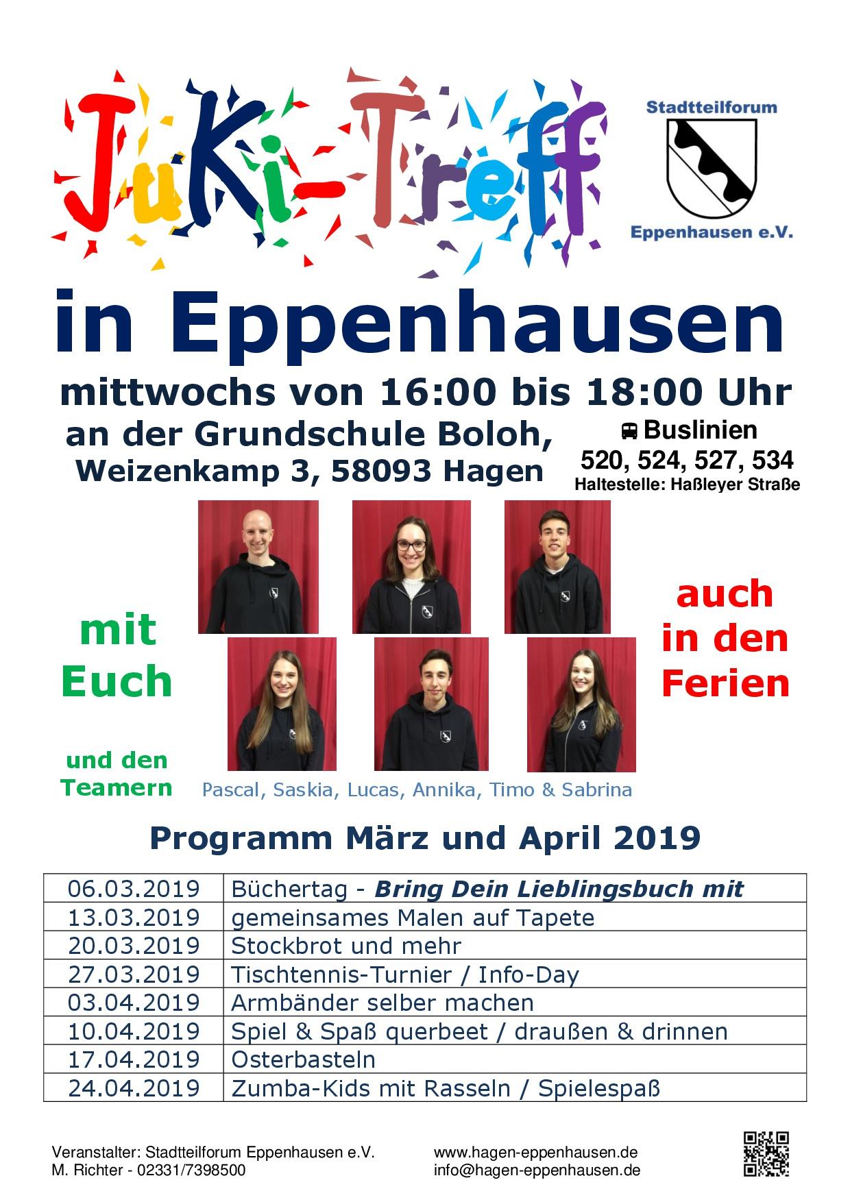 JuKi-Treff in Eppenhausen - auch in den Ferien