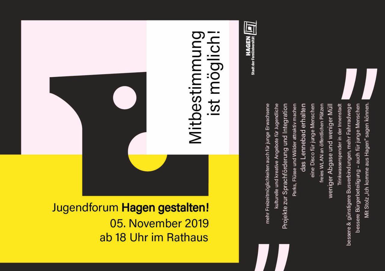 """Jugendforum """"Hagen gestalten"""""""