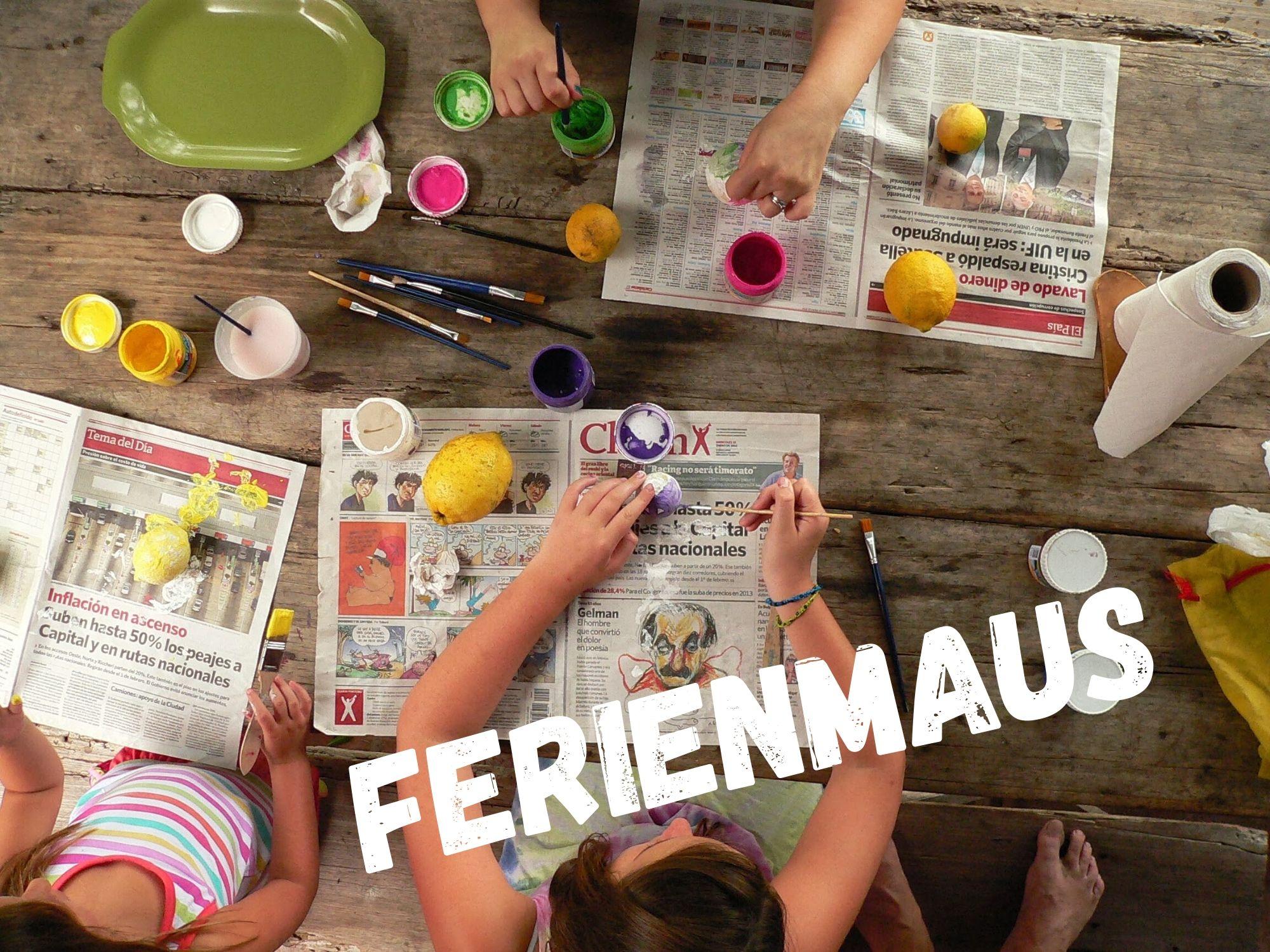 Ferienmaus - Ferienworkshop 3. Woche