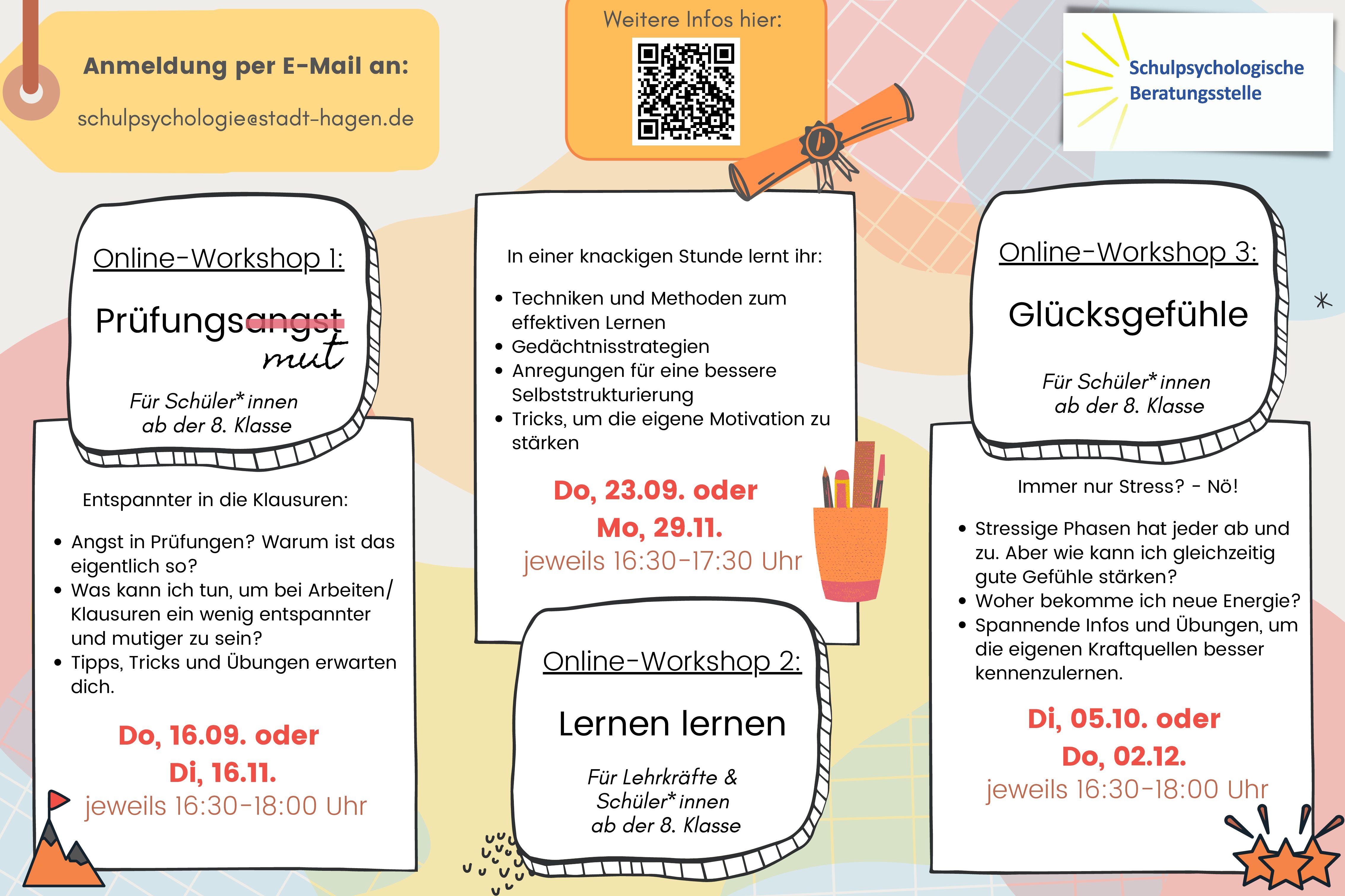 Online Workshop Prüfungsmut statt Prüfungsangst